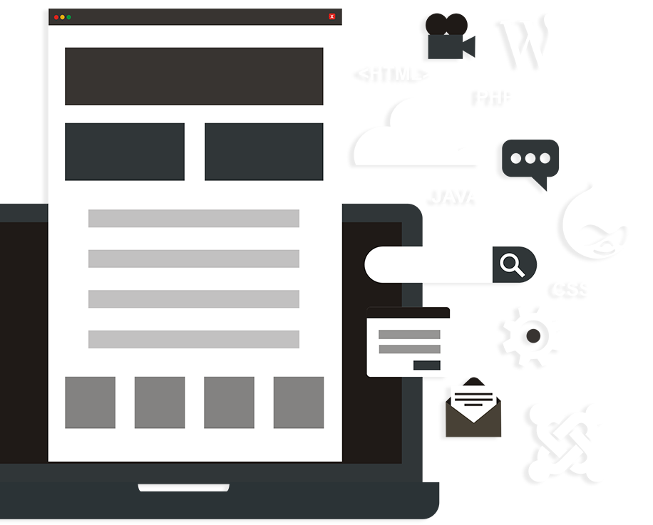 Website Development Service, Website Development Company Noida, India